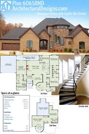 plan 60658nd european home with castle like detail open floor