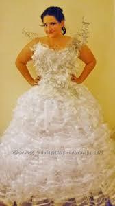 katniss everdeen wedding dress costume diy hunger catching katniss everdeen wedding dress