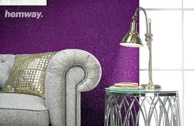 hemway 1l clear glitter paint glaze gold for pre painted walls