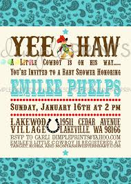 baby shower cowboy vintage cowboy printable baby shower invitation dimple prints shop