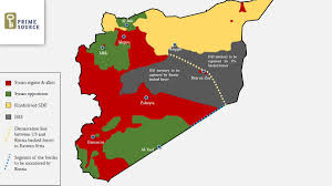 Syria War Map by Syrian Civil War Map On Twitter