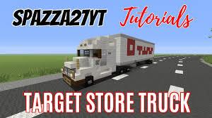 minecraft truck target store truck minecraft tutorial youtube