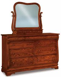 Amish Oak Bedroom Furniture by Amish Sleigh Panel Bed Solid Hardwood Bedroom Furniture King Queen