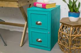 Teal File Cabinet Beautiful Filing Cabinet Makeover Hgtv