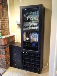 Bar Furniture Ikea by Furniture Bar Cabinets For Home Towel Wine Rack Liquor