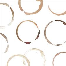clip art coffee rings set beautiful coffee stains
