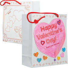 Ideas To Decorate For Valentine S Day by Valentine U0027s Day Card Bags Ready To Decorate Collect And Carry