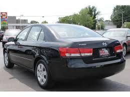 2007 black hyundai sonata black hyundai sonata in cleveland oh for sale used cars on
