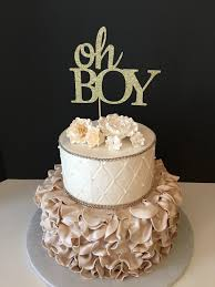 baby boy cakes for showers oh boy cake topper baby boy cake topper baby boy shower cake