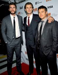 the hemsworth brothers how do you get a family of three adorably