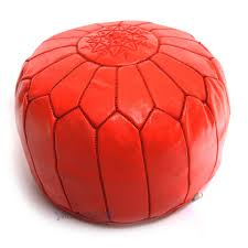 used home decor online remarkable red round ottoman tife interior furniture design
