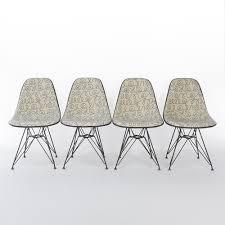 vintage herman miller eames chairs with u0027blue names u0027 alexander