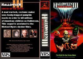 The Horrors Of Halloween Halloween Iii Season Of The Witch 1982