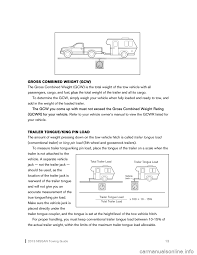 nissan frontier load capacity nissan frontier 2013 d40 2 g towing guide
