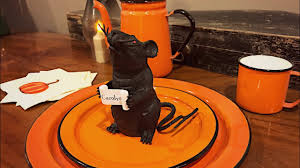 halloween mouse place cards dollar tree halloween easy