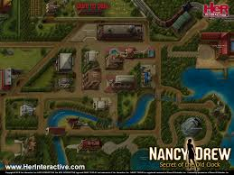 Secret Map Buy Nancy Drew Secret Of The Old Clock Her Interactive