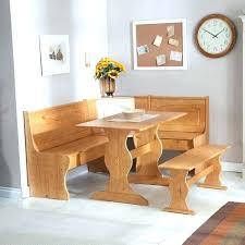 breakfast nook with storage bench image of excellent corner kitchen