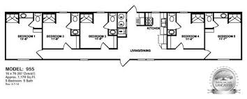 5 Bedroom Mobile Home Floor Plans Oilfield Trailer Houses Unit Floor Plans Prices On Mancamps