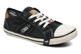 mustang shoes kid s mustang shoes flaki low rise trainers various colours ebay