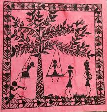 warli painting ideas zippered info