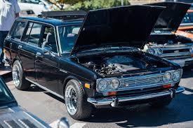 classic datsun 510 4 standout datsuns at the multi state datsun classic meet