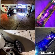 electric skateboard led lights eskate lights thread esk8 aesthetics electric skateboard