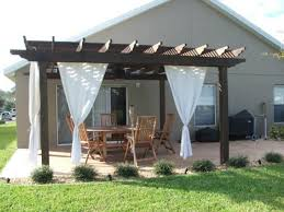outdoor curtains for pergola home landscaping throughout inspiring