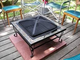 Firepit Mat Pit Mat For Wood Deck Pit Ideas
