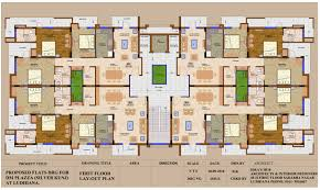 Large Apartment Floor Plans Apartments In Ludhiana Silver Kunj Apartments Floor Plan