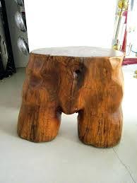 tree stump table base tree trunk table tree trunk coffee table tree trunk table and tree