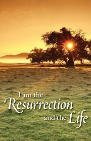funeral bulletin am the resurrection and the funeral bulletin quantity per