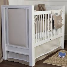 ricki upholstered crib and nursery necessities in interior design