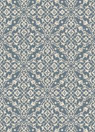 Concord Global Area Rugs Casa 8596 Medallions Blue Area Rug By Concord Global Trading