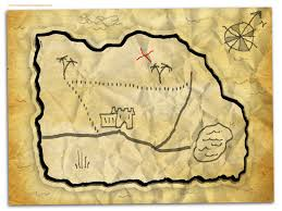 Blank Map Paper by Treasure Map Outline Free Download Clip Art Free Clip Art On