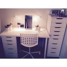 my makeup storage alex draws ikea glam room makeup storage ideas