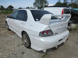 mitsubishi evolution 7 nettivaraosa mitsubishi lancer evo 7 2002 spare and crash