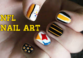 sport team nail designs summer nail designs nfl team colors