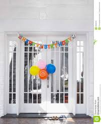 Home Birthday Decoration Birthday Decorations At House Stock Photography Image 33899642