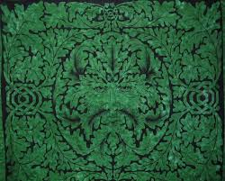 greenman celtic tapestry cotton bedspread 90