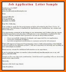 Example Of Resume To Apply Job Application Letter Formats Construction Labor Cover Letter