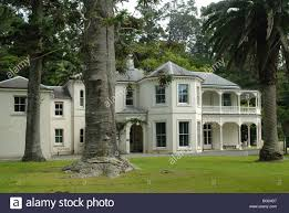 mansion house kawau island new zealand stock photo royalty free