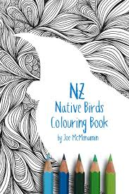 nz native birds colouring book joe mcmenamin u2013 viking sevenseas