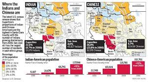 san jose ethnicity map indian population diversifying bay area s asian population the