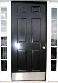 Exterior Door Kick Plate Curb Appeal Front Door Transformation The Graphics