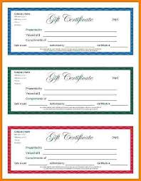 8 make your own gift vouchers template free sample of invoice