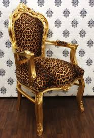 Leopard Armchair Leopard Gold