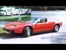 Maserati Bora Interior 1977 Maserati Bora Coupe 22947