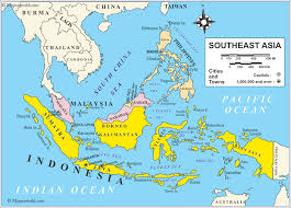 asia map and countries map southeast asia countries travel maps and major tourist