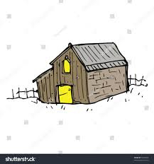 quirky drawing barn stock vector 52795036 shutterstock