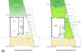 Loft Conversion Floor Plans by Double Storey Extension Loft Conversion In New Malden